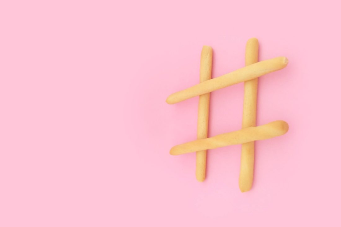 Hashtags auf Facebook